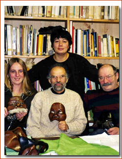 Les masques : Amleto Sartori et Donato Sartori